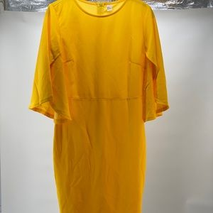 Brand new yellow dress size medium